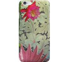 Cactus With Pink Spiked Bowl, Texturized iPhone Case/Skin