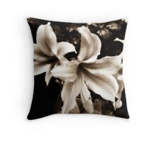 Diffused Flower 2 Throw Pillow