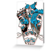 Loyalty over Love Greeting Card
