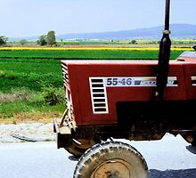 Turkish Tractorscape by Ron Marton