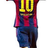 Messi by Enriic7