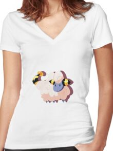 mareep. Women's Fitted V-Neck T-Shirt