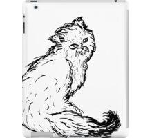 Persian Cat Sketch iPad Case/Skin