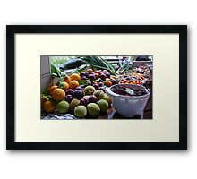 A Country Harvest 2. Framed Print