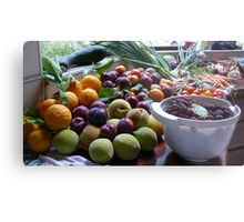 A Country Harvest 2. Metal Print