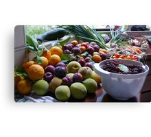 A Country Harvest 2. Canvas Print
