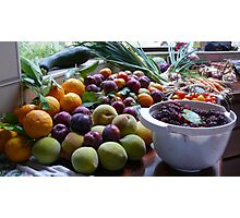 A Country Harvest 2. Photographic Print