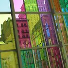Colorful city by MarkJeremy