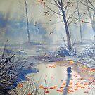 Splash of Colour on Strensall Common by Glenn  Marshall