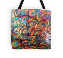 Whirly Pops Tote Bag