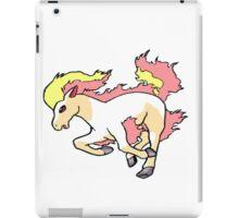 Running Ponyta iPad Case/Skin
