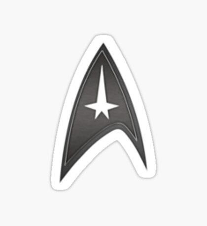 Star Trek Command Insignia Sticker