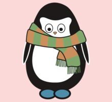 Hugo wearing a scarf Kids Clothes