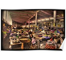 The Indoor Market at Guinea Conakry Poster