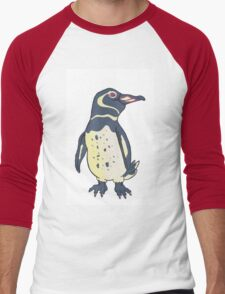 Galapagos Penguin Men's Baseball ¾ T-Shirt