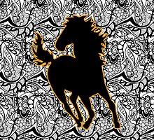 Tangled Horse by Tangldltd