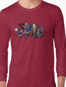Sly Cooper Gang Extended Long Sleeve T-Shirt