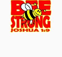 JOSHUA 1:9  BEE STRONG Womens Fitted T-Shirt
