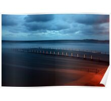 North Narrabeen Pool  - High tide 2 Poster