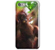 Orangutan family iPhone Case/Skin