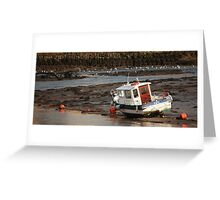 Run Aground Greeting Card