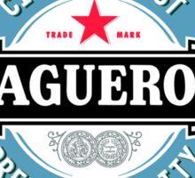 Sergio Aguero Manchester City parody logo Sticker