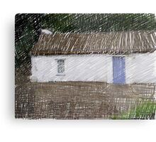 Donegal Cottage Metal Print