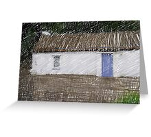 Donegal Cottage Greeting Card