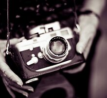 Vintage Camera by Tony Eccles