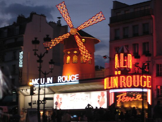 Pigalle and the Moulin Rouge by Carol Ferbrache