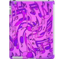 Ultra Violet Purple Pink Passion Music Notes iPad Case/Skin