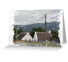 Thatched Roofs Greeting Card