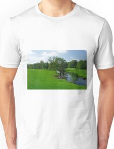 Riverside Meadows, Ashford-in-the-Water  Unisex T-Shirt