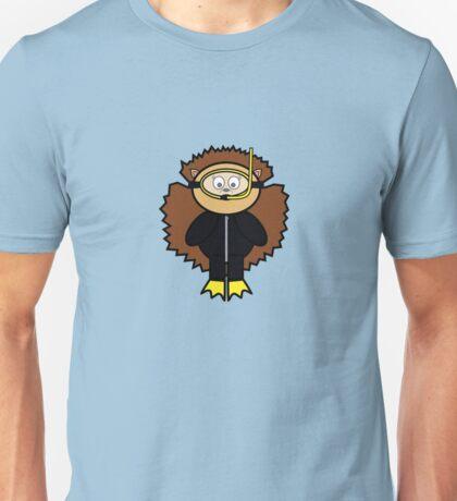 Meredith snorkelling Unisex T-Shirt
