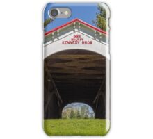 Longwood Covered Bridge iPhone Case/Skin