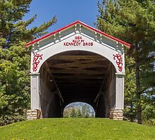 Longwood Covered Bridge by Kenneth Keifer