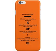 Geek Hopeful iPhone Case/Skin