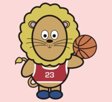Victor playing basketball Kids Clothes
