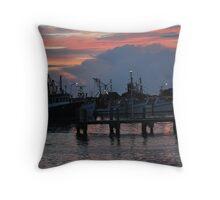 Sunrise over Crowdy Head Bay Throw Pillow