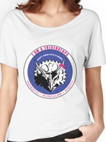 I AM A TRICERATOPS Women's Relaxed Fit T-Shirt