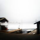 Double Exposure Boat Dock by Nazareth