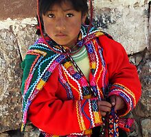 PEDDLER - PERU by Michael Sheridan