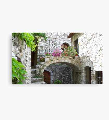 Lovely arch Canvas Print