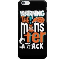 Monster Attack iPhone Case/Skin