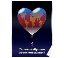 Crying Planet Poster