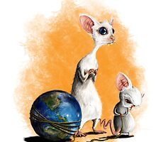Pinky and the Brain by Patrick Campbell