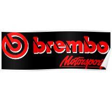 Brembo Poster