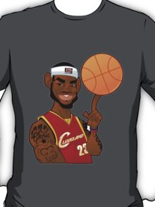 Lebron James Cartoon T-Shirt