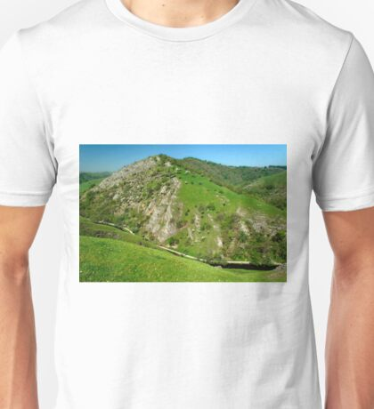 Bunster Hill from Thorpe Cloud  Unisex T-Shirt