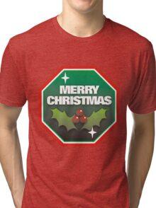 Christmas greetings Tri-blend T-Shirt
